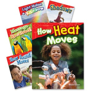 Shell 1st Grde Physical Science Book Set Education Printed Book for Science (Set of 5)
