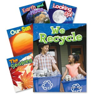Shell 1st Grade Earth and Space Book Set Education Printed Book for Science (Set of 5)