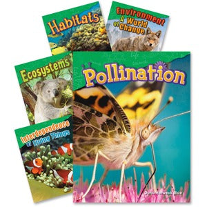 Shell Fundamentals of Life Science Books Education Printed Book for Science (Set of 5)