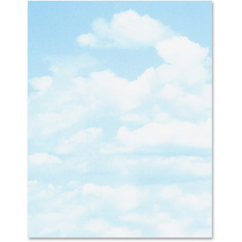 Geographics Clouds Design Printable Paper (Pack of 100)