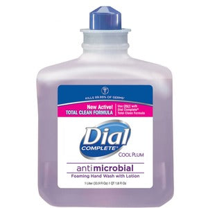 Dial Complete Antimcrbial Foam Soap Refill (Carton of 4)