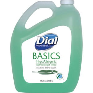 Dial Basics HypoAllergenic Foam Hand Soap (Carton of 4)