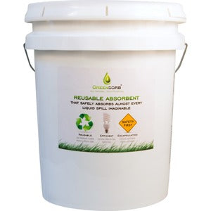 GreenSorb Sorbent Green Reusable Absorbent