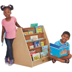 ECR4KIDS Early Childhood Res.Doublee-Side Fabric Book Display