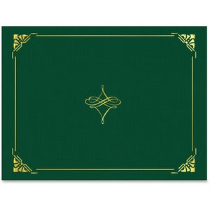 Geographics Gold Foil Border Certificate Holder (Pack of 5 Sheets)