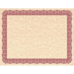 Geographics Braided Border Blank Certificates (Pack of 25 Sheets)