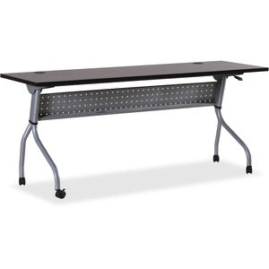 Lorell Espresso/Silver Training Table