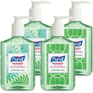 PURELL Ad Refreshing Aloe Instant Hand Sanitizer (Carton of 6 Boxes - Each 4)