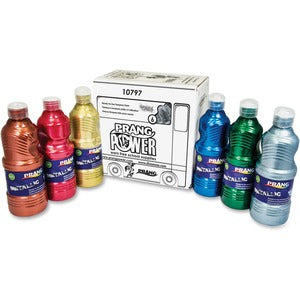 Prang Power Metallic Paint Set (Set of 6)