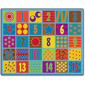Flagship Carpets Counting Fun 30-seat Rug