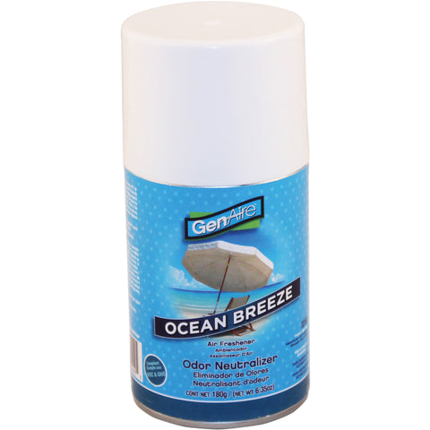 Impact Products Air Freshener Metered Aerosol 7.0 oz Ocean Breeze