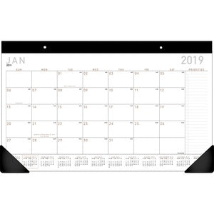 At-A-Glance Contemporary Monthly Desk Pad
