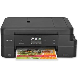 "Brother MFC-J985DW XL Inkjet Multifunction Printer - Color - Duplex - Copier/Fax/Printer/Scanner - 6000 x 1200 dpi Print - 2.7"" LCD Touchscreen - Ethernet - Wireless LAN - USB 2.0"
