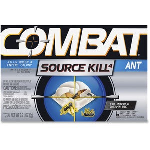 Dial Combat Bait Stations Ant Killer (Carton of 12 Boxes - Each 6)