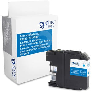 Elite Image Remanufactured Ink Cartridge - Alternative for Brother (LC103C)