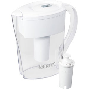 Brita 6-Cup Space Saver BPA-Free Water Pitcher with 1 Filter