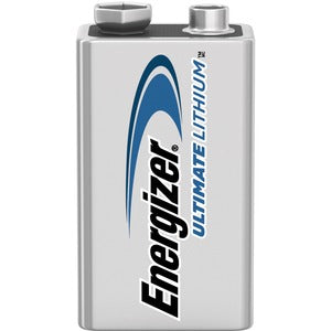 Energizer Ultimate Lithium 9V Battery (Pack of 1)