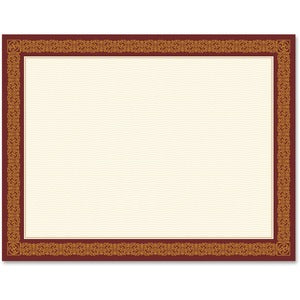 Geographics Award Certificates Burgundy Gold Foil (Pack of  )