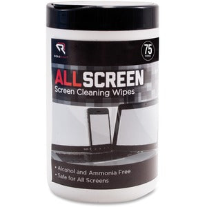 Advantus Read/Right AllScreen Screen Cleaning Wipes