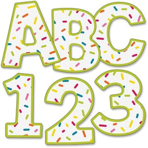 "Carson-Dellosa School Pop 4"" EZ Letters (Pack of  )"