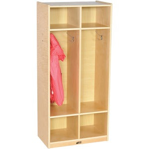 ECR4KIDS 2-sectn Straight Coat Locker