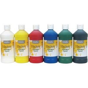 Handy Art Masters Tempera Paint (Set of 6 Bottles)