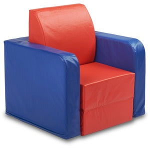 ECR4KIDS SoftZone Convertible Kids Club Chair