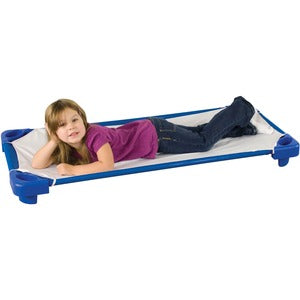 ECR4KIDS Standard RTA Kiddie Cot with Sheet (Carton of 6)