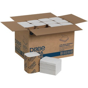 Dixie Ultra&reg Interfold Napkin Dispenser Refill (Carton of 24 Packs - Each 250)