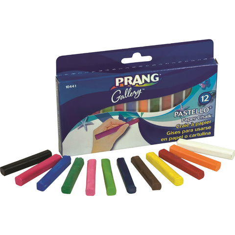 Prang Pastello - Colored Paper Chalk (Box of  )