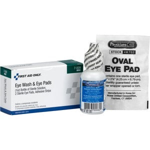 First Aid Only Eye Wash 5-piece Set