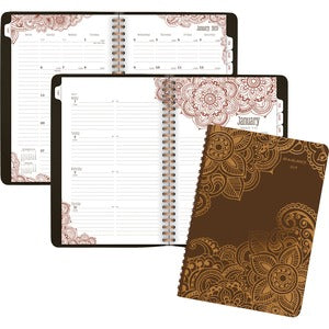At-A-Glance Henna Premium Weekly/Monthly Planner