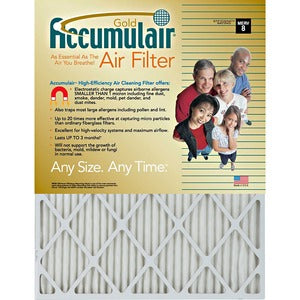 Accumulair Gold Air Filter (Carton of 4)
