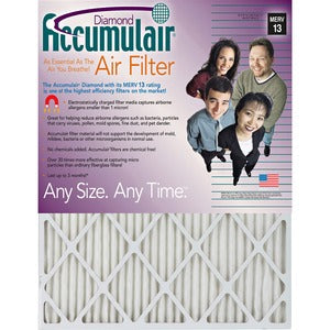 Accumulair Diamond Air Filter (Carton of 4)