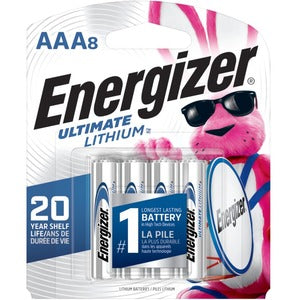 Energizer Ultimate Lithium AAA Batteries (Pack of 8)