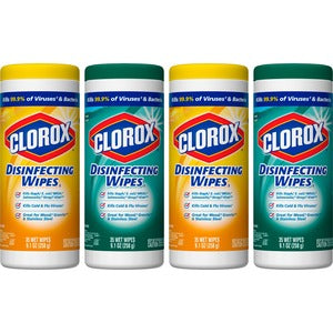 Clorox Disinfecting Wipes Value Pack (Pack of 4)