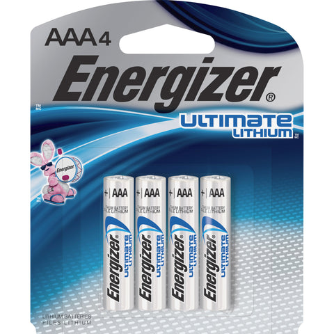 Energizer Ultimate Lithium Battery (Pack of 4)