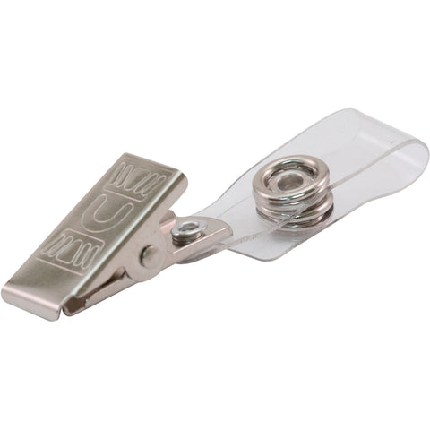 Advantus ID Badge Clip Adapters (Pack of 25)