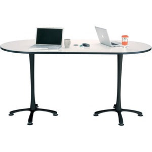 Safco Electric Height-adjustable Teaming Table Top