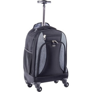"bugatti Carrying Case (Rolling Backpack) for 15.6"" Notebook - Black/Gray"