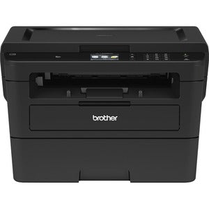"Brother HL-L2395DW Monochrome Laser Printer with Convenient Flatbed Copy & Scan, 2.7"" Touchscreen, Duplex and Wireless Networking"