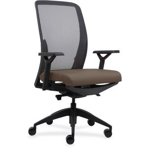 Lorell Executive Mesh Back/Fabric Seat Task Chair