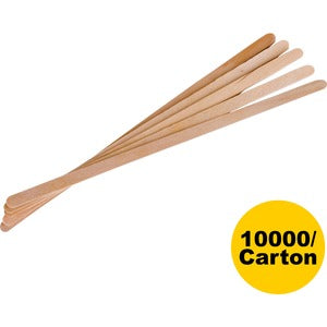 "Eco-Products 7"" Wooden Stir Sticks (Carton of 1 Pack)"
