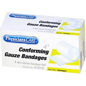 "PhysiciansCare 4"" Conforming Gauze"