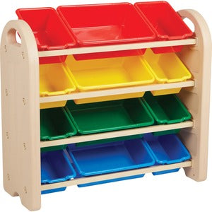 Early Childhood Resources Storage Bins 4-tier Organizer