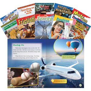 Shell STEM Grade 2 10-book Set Education Printed Book for Science/Technology/Engineering/Mathematics (Set of 1)