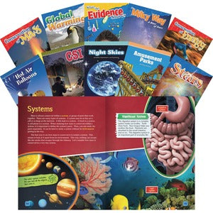 Shell STEM Grade 5 10-book Set Education Printed Book for Science/Technology/Engineering/Mathematics - English (Set of 1)