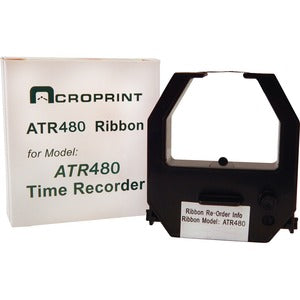 Acroprint Ribbon Cartridge - Black, Red