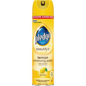 Pledge Lemon Clean Furniture Polish
