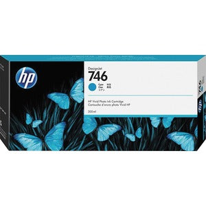 HP 746 Original Ink Cartridge - Cyan